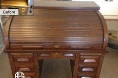 Antique-Roll-Top-Desk-Restoration-Refinishing