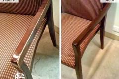 Chair-Arm-Refinish